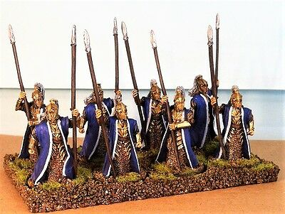 Warhammer lotr metal painted, Guards of Galadriel's Court