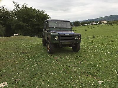 Land Rover Defender 90 300tdi 1989 - Running and Driving - New Chassis