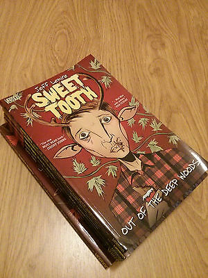sweet tooth - jeff lemire - vertigo - complete 6 volumes