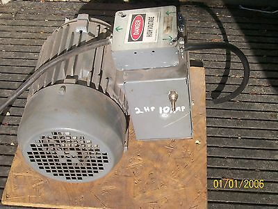 Used 2Hp 10 Amp Phase Converter  Anderson Converter