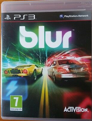 Blur PS3 Game Boxed with manual  pal Playstation3