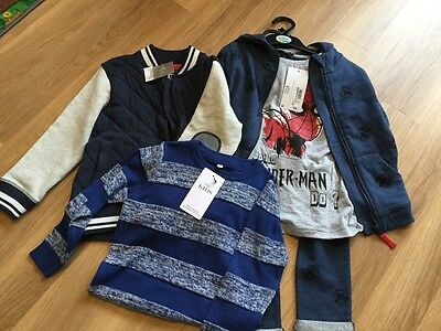 Boys bundle 4-5 (next and m&s) new with tags
