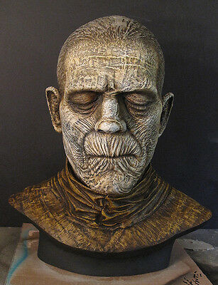 The Mummy bust Boris Karloff 1:1 scale head prop not mask sideshow monster model