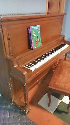 Upright piano looking for a good home!