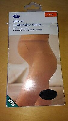 Boots glossy maternity tights