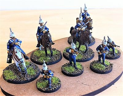 28mm Colonial British Zulu wars, Natal Caribinier's, Painted