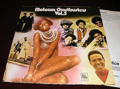 Various Artists - Motown Chartbusters Vol. 5 - Lp In Textured Sleeve