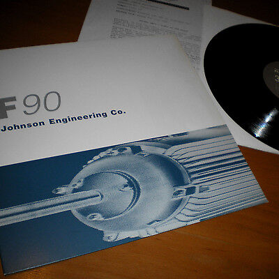 "Johnson Engineering Co. ‎- Floorslammer 12"" Vinyl Maxi Single EBM"