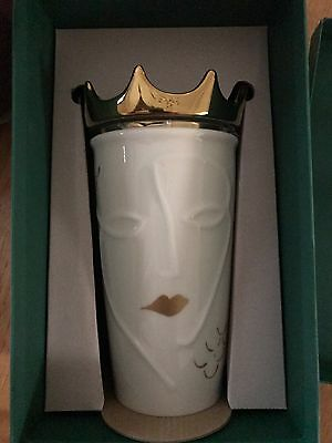 Starbucks Siren Queen Gold Crown Mug Tumbler 2016 Limited Edition Sold Out Rare