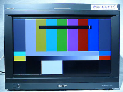 """Sony BVM-L230 23"""" Trimaster LCD Professional Master Monitor"""