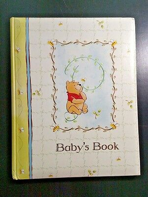 Baby's Book Memory Album Disney Winnie the Pooh Stepping Stones Boy or Girl