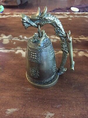 Brass Dragon Bell