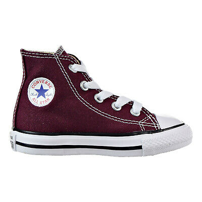 c60ec7c9c4a39a Converse All Star Chuck Taylor OX 739794F Burgundy Toddler Shoes
