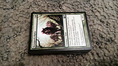 Mtg Cards *mono Green Wolf Deck* - 60 Cards *complete*