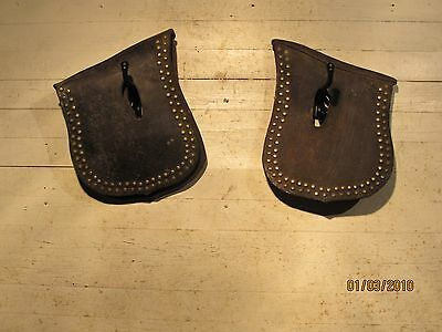Pair Horse Harness Hame Covers Lower Price