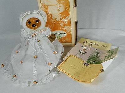 "Raikes Bears ""WHITNEY"" -  With Original Box And Registration Certificate"
