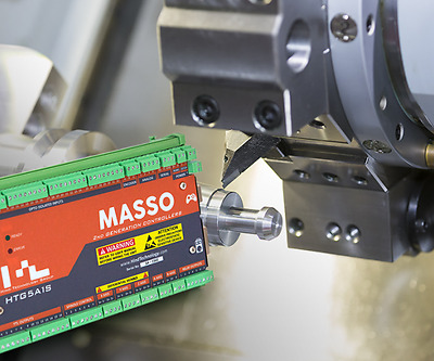 MASSO CNC Controller with Lathe 2 Axis Control Software, No PC Required!