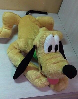 "Authentic Walt Disney World Pluto Mickey & Friends Puppy Dog Plush Large 21"" toy"