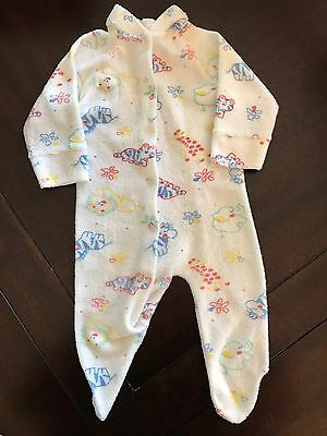 VINTAGE GERBER BABY SLEEPER MEDIUM MADE IN U.S.A. Small