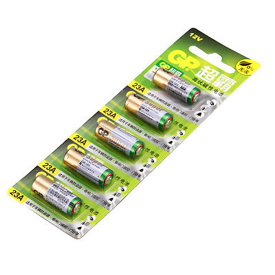 1Card/5pcs A23 12V Alkaline Battery 23AE 23A MN21 E23A K23A Single Use Batteries