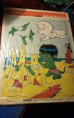Vintage 1978 Harvey Comics, Casper The Friendly Ghost Picture Puzzle Sealed