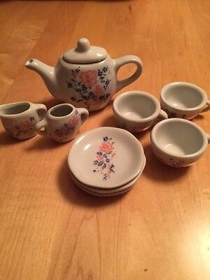 10 Piece Childrens Toy Tea Set - Made in China - Hong Hua