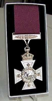 New Zealand Cross Full Size Replica Ribbon & Medal