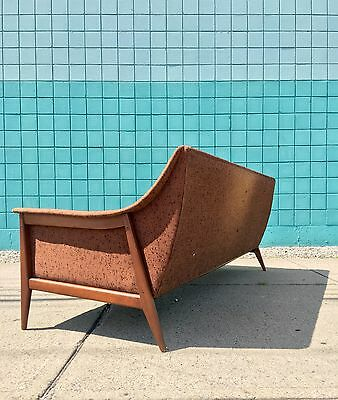 Selig | Mid Century Walnut Wing Arm Sofa | Kofod danish