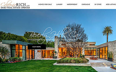 Luxury Real Estate Website, Established & Profitable, Domain, Business For Sale