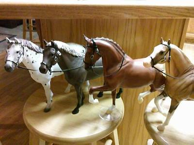 Breyer horse custom four   bridles only
