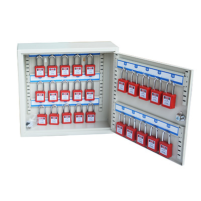 STON Locks Security Key Management Cabinet-Visible Key Cabinet Without Padlocks