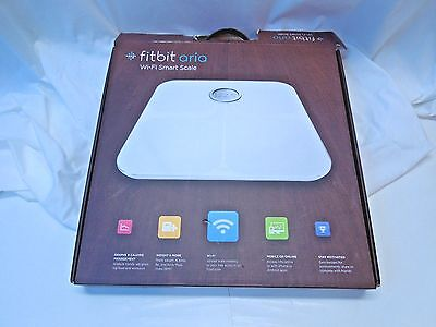 FITBIT ARIA Wi-Fi Smart Scale White Pre-owned But Excellent Condition