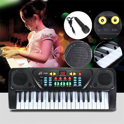 61 Key Electric Piano Portable Keyborad Digital Notes Holder Teaching Function