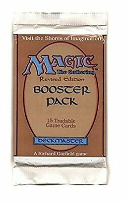 Revised Booster Pack - ENGLISH - Sealed Brand New MTG Magic ABUGames