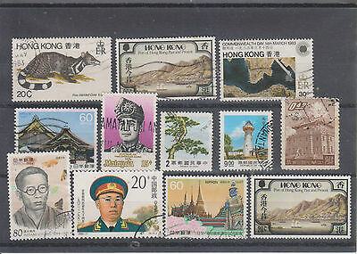 timbres asie lot 1