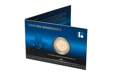 Estonia 2017 *2€ coin dedicated to Estonia's road to independence*in coin card