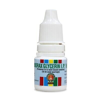 Borax glycerin for mouth ulcers 10Gm/25Gm