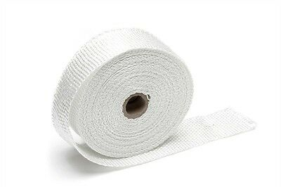 TA TECHNIX Heat Protection Tape Exhaust Pipe White Each Roll 10m x 1 31/32in x