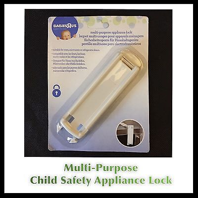 Toddler Baby Kids Child Safety Lock For  Fridge Door Or Microwave Oven Lock UK