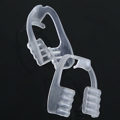 New Dental Mouth Guard Bruxism Splint Night Sleeping Hot Tooth Grinding