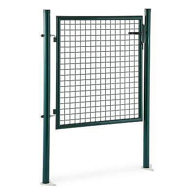 Garden Fencing Gate Secure Home Field Farm Lock 3 Keys Robust Steel 1.5 M High