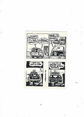 Political Postcard Leeds  Go Directly To Jail   1984