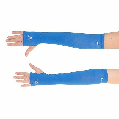 adidas  TECHFIT COMPRESSION ARM SLEEVES  2pp  BLUE   UNISEX ADULT SIZE L  W63934