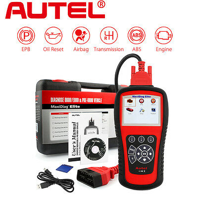 Autel MD802 OBD2 Auto Diagnostic Scan Tool Code Reader ABS Airbag EPB + DS Model