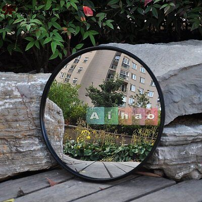 30cm Wide Angle Security Curved Convex Road Mirror Traffic Driveway Spot Safety