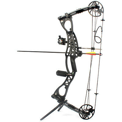 Compound Bow Black Archery Hunting Shooting Outdoor JunXing Shark M127 40-65LBS