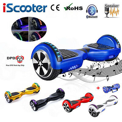 Self Balancing Scooter SWAGWAY Balance Board Electric Bluetooth iSCOOTER+BAG+LED