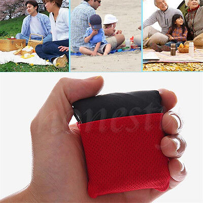 Foldable Outdoor Garden Camping Beach Picnic Pocket Blanket Mat Nylon Waterproof