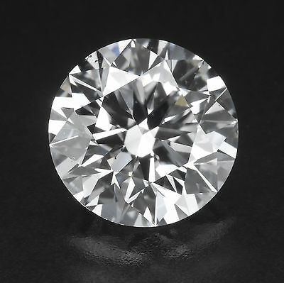 GIA Certified Loose Natural Diamond 0.60 CT G SI1 Round Cut For Engagement Ring