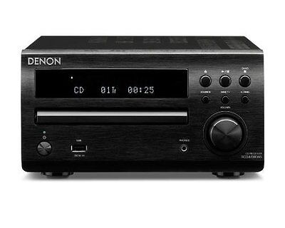 Denon RCD-M39DAB Micro System/Q Acoustics Speakers/DP-200USB Turntable/Cassette